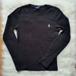 Ralph Lauren Sport Black Long Sleeve